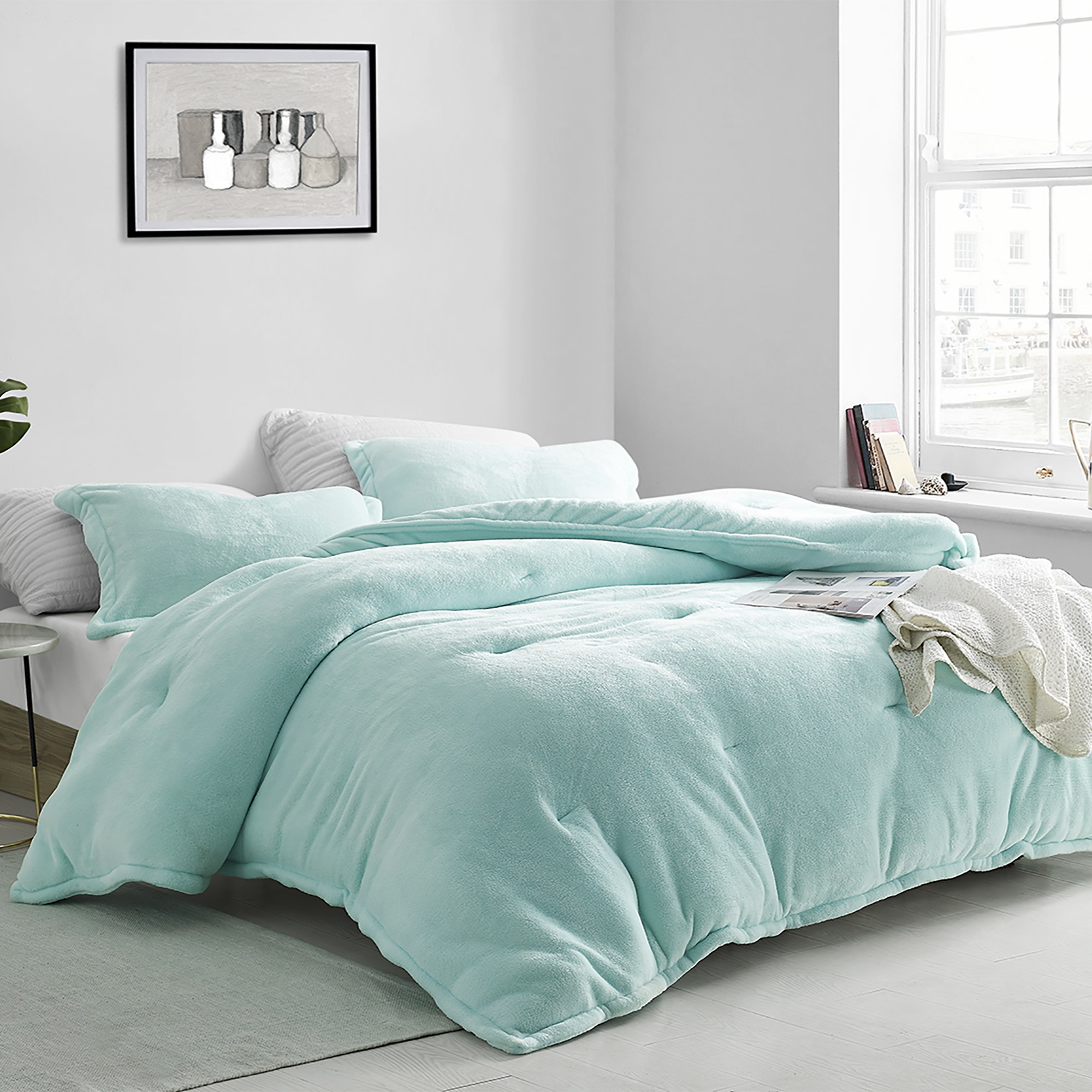 Coma Inducer® Oversized Comforter - Touchy Feely - Aruba